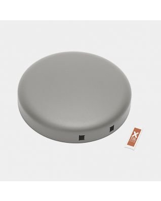 Deksel pedaalemmer newIcon, 12 liter - Mineral Concrete Grey