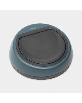 Deckeleinheit Touch Bin, 60 Liter - Mineral Reflective Blue