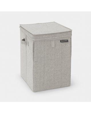 Wäschebox stapelbar 35 Liter - Grey