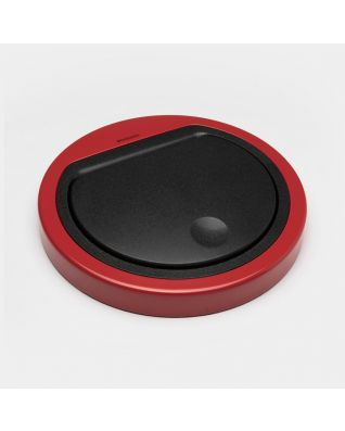 Lid Touch Bin 30 litre, flat - Passion Red