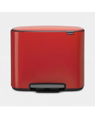 Bo Pedaalemmer 36 liter - Passion Red