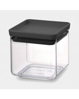 Bocal carré 0,7 litre - TASTY+ - Dark Grey