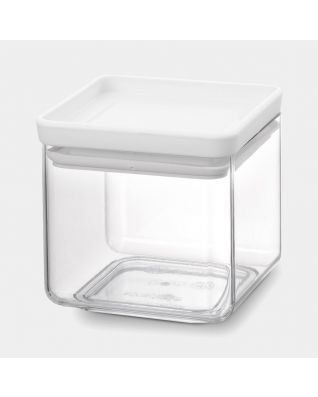 Square Canister 0.7 litre - TASTY+ - Light Grey