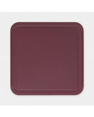 Snijplank Medium, TASTY+ - Aubergine Red