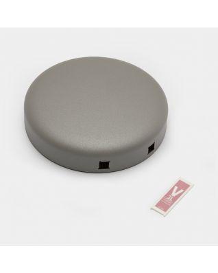 Lid Pedal Bin newIcon, 3 litre - Mineral Concrete Grey