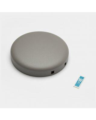 Couvercle poubelle à pédale newIcon, 5 litres - Mineral Concrete Grey