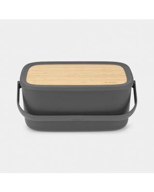 Boîte à pain Nic Dark Grey