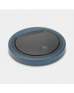 Couvercle plat Touch Bin 30 litres ou 20 litres - Mineral Reflective Blue