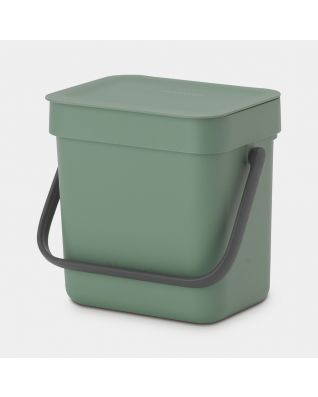Sort & Go Waste Bin 3 liter - Fir Green