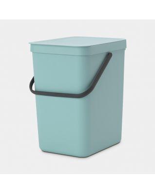 Sort & Go Waste Bin 25 litre - Mint