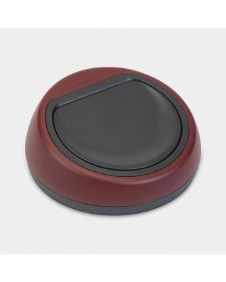 Deckeleinheit Touch Bin, 60 Liter - Mineral Windsor Red
