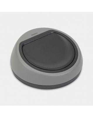 Deckeleinheit Touch Bin, 60 Liter - Mineral Concrete Grey
