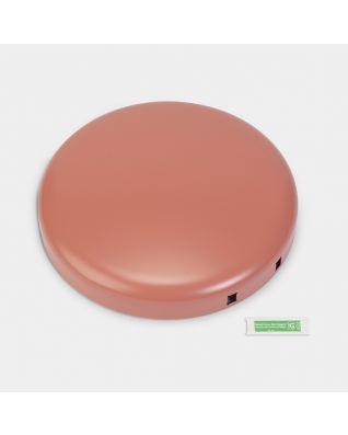 Couvercle poubelle à pédale newIcon, 30 litres - Terracotta Pink