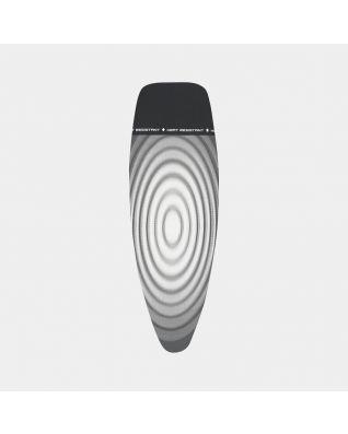 Housse de table à repasser taille D 135 x 45 cm, Housse externe - Titan Oval