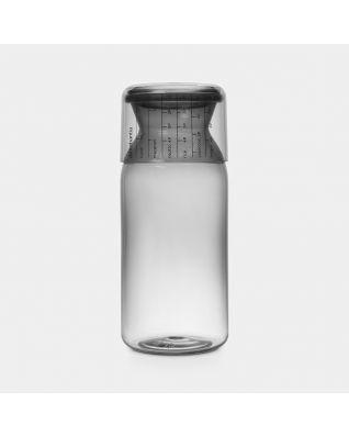 Storage Jar with Measuring Cup 1.3 litre - Dark Grey