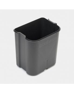 Plastic Inner Bucket, 23 litre, Bo - Grey