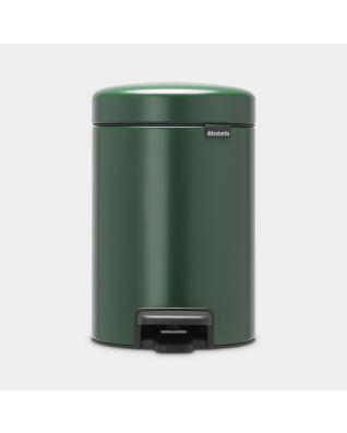 Poubelle à pédale newIcon 3 litres - Pine Green