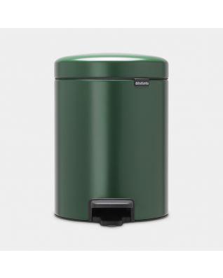Poubelle à pédale newIcon 5 litres - Pine Green