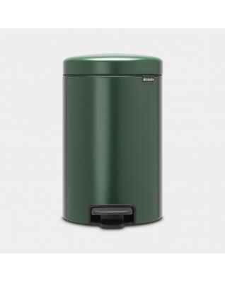 Poubelle à pédale newIcon 12 litres - Pine Green