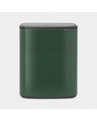 Bo Touch Bin 60 litre - Pine Green