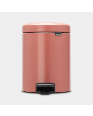 Poubelle à pédale newIcon 5 litres - Terracotta Pink