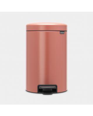 Poubelle à pédale newIcon 12 litres - Terracotta Pink