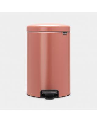 Pedal Bin newIcon 20 litre - Terracotta Pink
