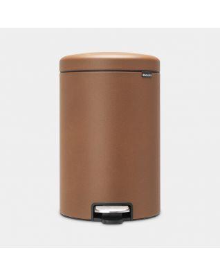 Pedal Bin newIcon 20 litre - Mineral Cinnamon