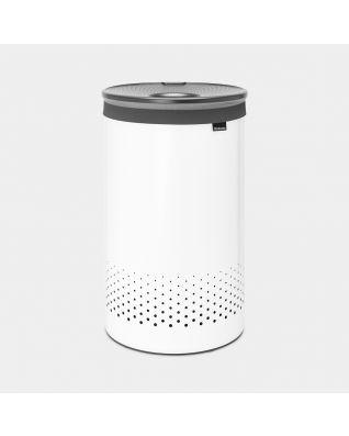 Laundry Bin 60 litre - White