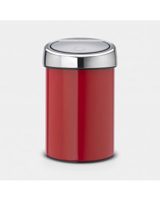 Touch Bin 3 litros - Passion Red