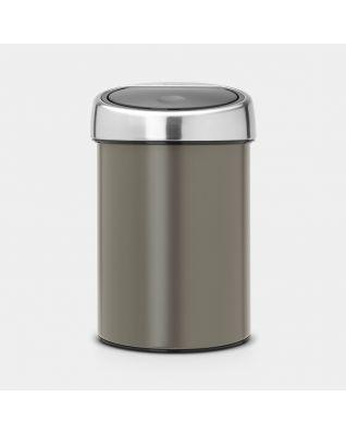 Touch Bin 3 litre - Platinum
