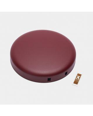 Deksel pedaalemmer newIcon, 12 liter - Mineral Windsor Red