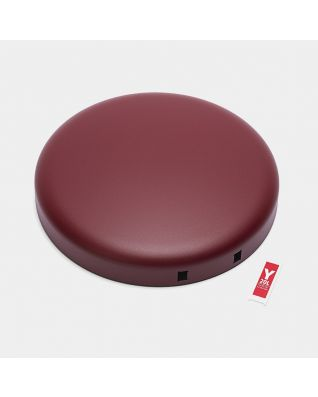 Tapa para cubo pedal newIcon 20 litros - Mineral Windsor Red