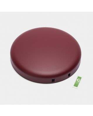 Lid Pedal Bin newIcon, 30 litre - Mineral Windsor Red