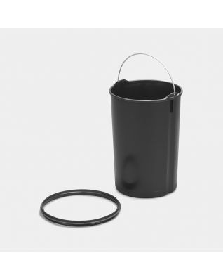 Seau intérieur plastique, 12 litres - Black