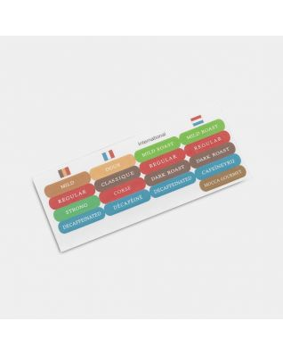 Labels Canisters Senseo Coffee