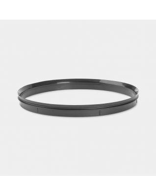 Plastic Sealing Ring, diameter 20.5cm - Black