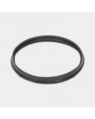 Plastic Upper Rim, diameter 29.3 cm - Black