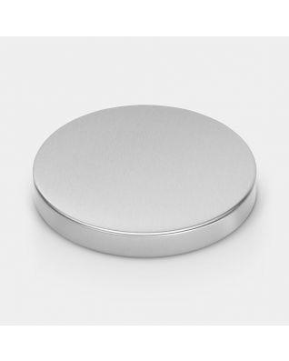 Lid Pedal Bin, 20 litre/30 litre, diameter 30 cm - Matt Steel