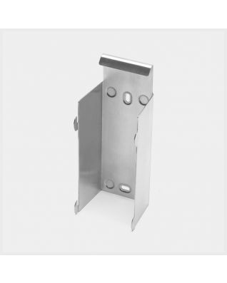 Muurhouder - Brilliant Steel