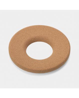 Tapa de corcho para cubo de ropa, 35 litros - Brown