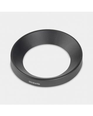 Joint plastique conique Paper Bin, 5 litres, diamètre 21 cm - Black