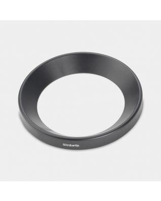 Joint plastique conique Paper Bin, 11 litres, diamètre 26 cm - Black
