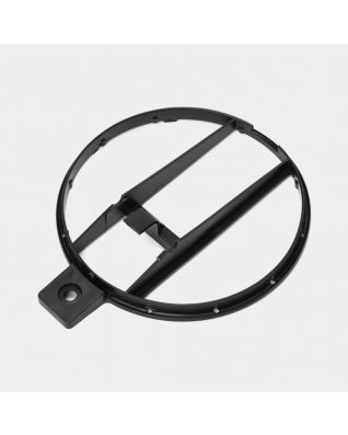 Plastic Bottom Ring, 3 litre - Black
