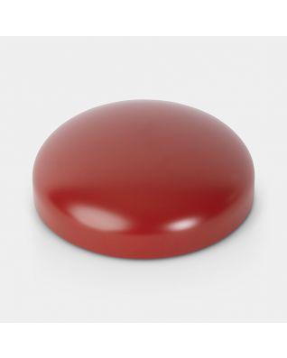 Couvercle pour poubelle à pédale Retro, 30 litres, diamètre 30 cm - Deep Red