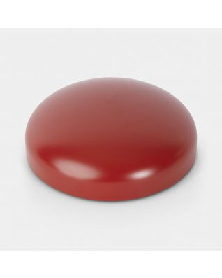 Couvercle pour poubelle à pédale Retro, 20 litres/30 litres, diamètre 30 cm - Passion Red