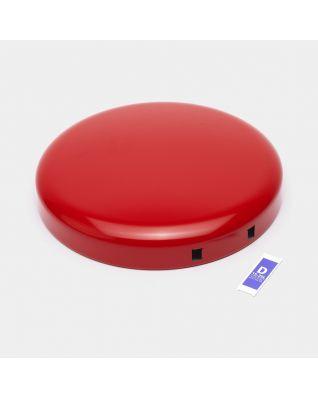 Couvercle poubelle à pédale newIcon, 20 litres - Passion Red