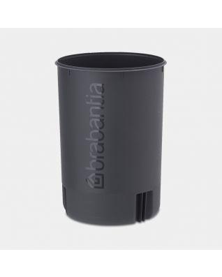 Seau intérieur plastique newIcon, 20 litres - Black