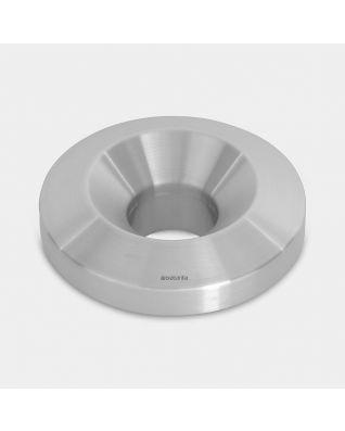 Lid for Flame Guard Waste Paper Bin, 30 litre, diameter 30 cm - Matt Steel