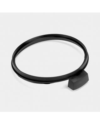 Plastic Rim for Body Touch Bin, 30 litre - Black